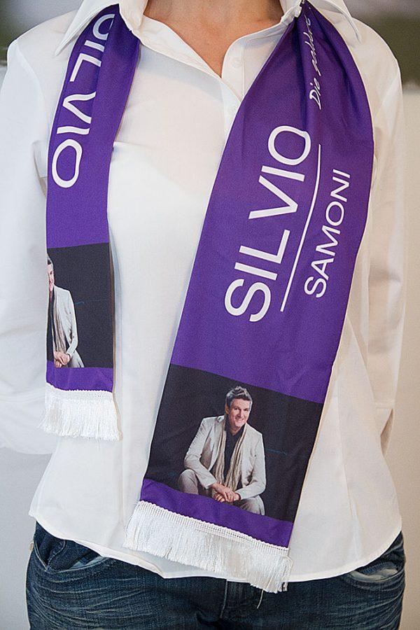 Silvio Samoni Fan-Schal
