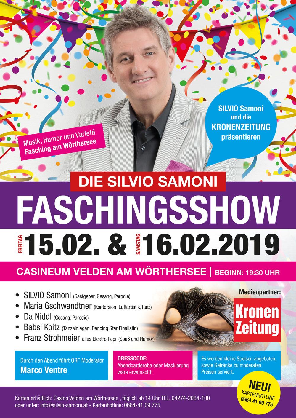Die Silvio Samoni Fachingsshow