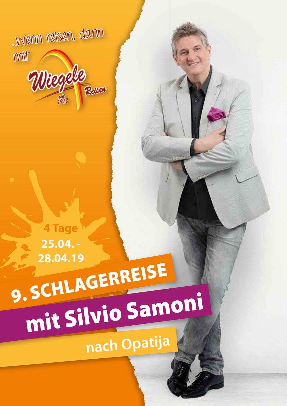 9. SCHLAGERREISE – Mit Silvio Samoni Nach Opatija