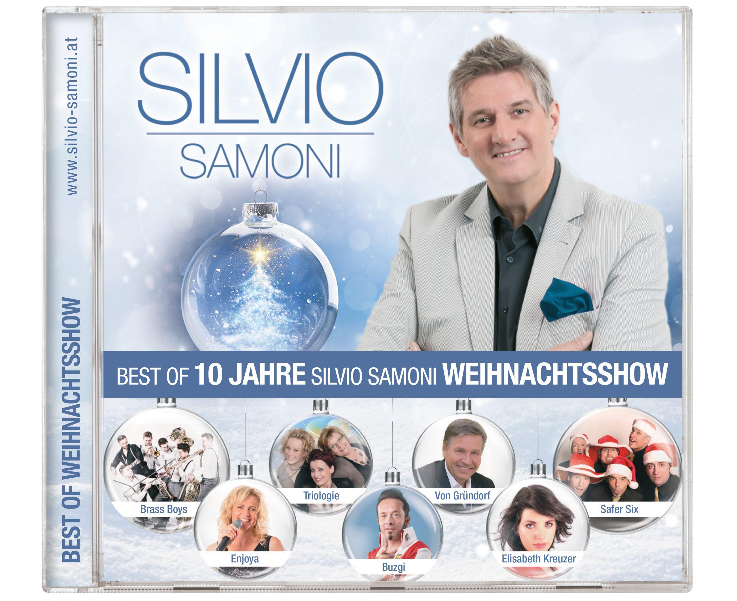 Silvio Bringt Neue CD – BEST OF 10 Jahre Silvio Samoni Weihnachtsshow Auf Den Markt!